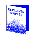 Dépliants simples