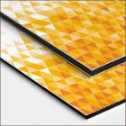 Plaques et panneaux Alu-dibond grand format