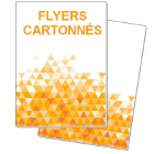 Flyers cartonnés