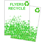 Flyers recyclés