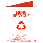 Menu recyclé