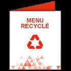 Menu recyclé