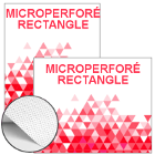 Microperforé Rectangle