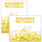 Monomère Rectangle