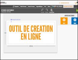 outil de création de visuel en ligne