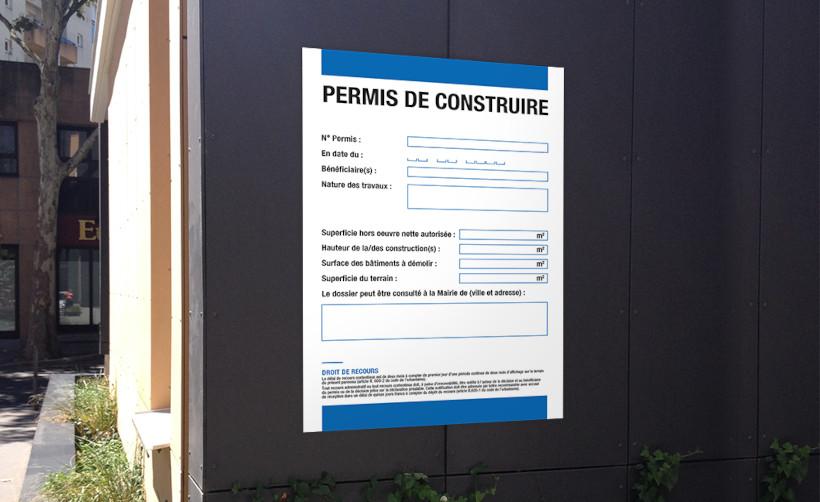 Panneaux permis de construire Akilux