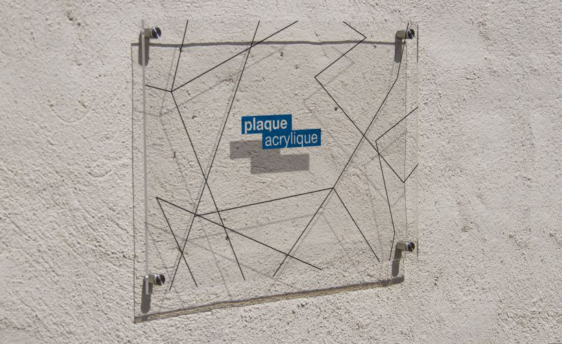 Imprimez vos plaque plexiglass en quelques cliques