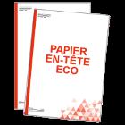 Papier en-tête économique