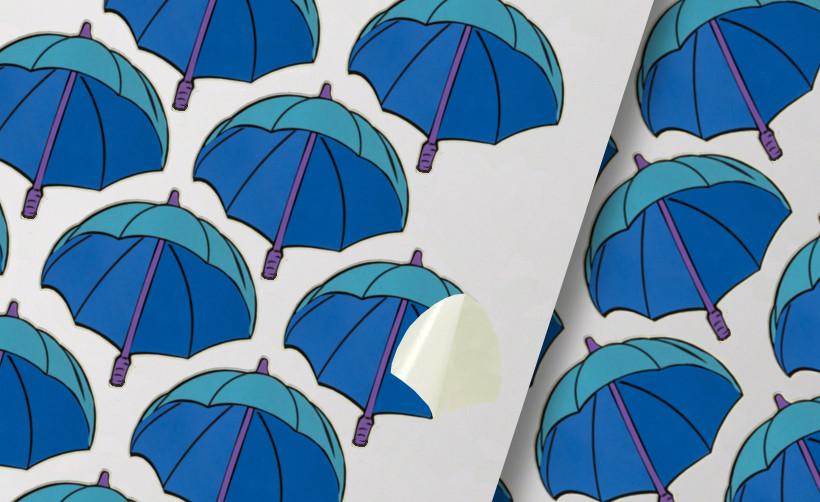 Planche A4 de stickers autocollants