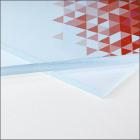 Plexiglas ® transparent
