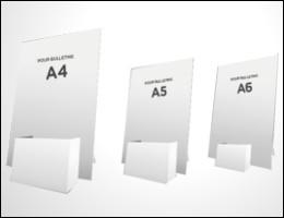 Formats des Portes leaflets
