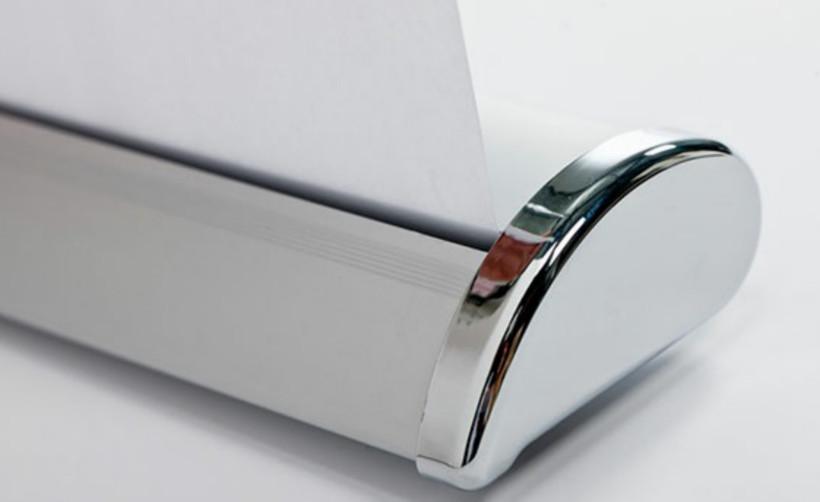 Découvrez la PLV de comptoir Roll-Up Mini