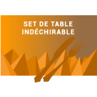 Set de table indéchirable