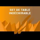Set de table indéchirable