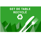 Set de table recyclé
