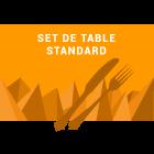 Set de table classique