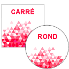 Carré / Rond