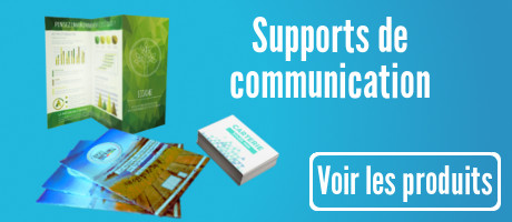 Supports de communication pour salons