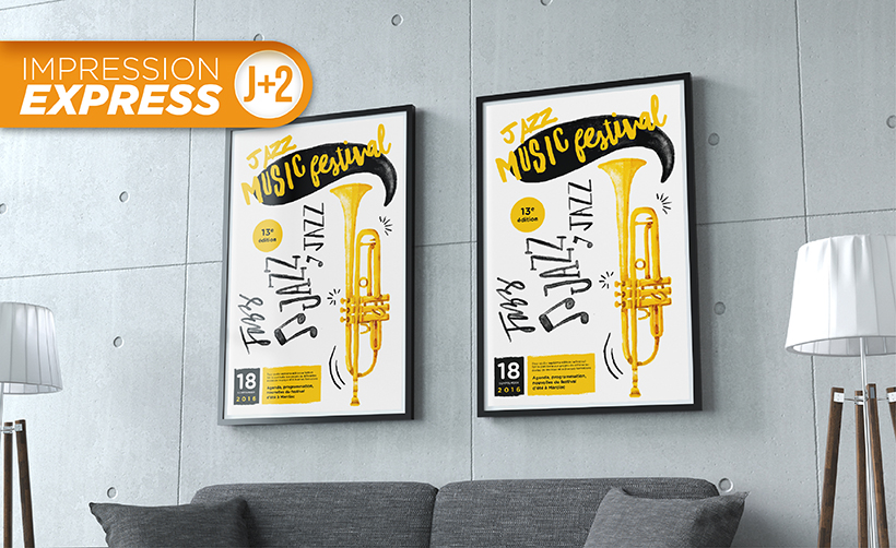 Impression Express d'affiches grand format