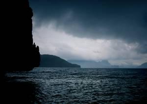 Océan calme avant la tempête