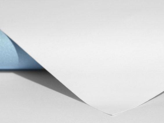 papier 120g verso bleu