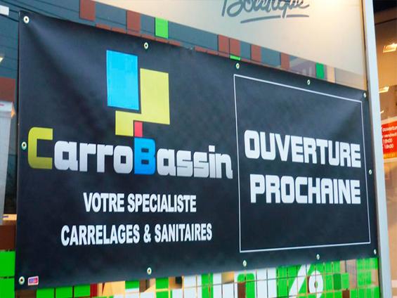 bâches et banderoles publicitaires