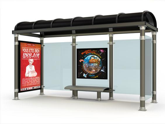 imprimer affiche abribus format 120x176 ou format 118,5x175 cm