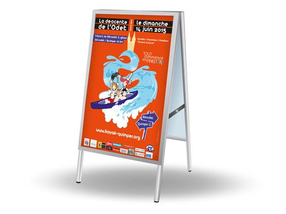 imprimer affiche 80x120 ou 78x118 en gare