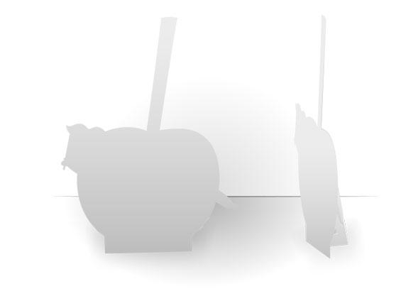 Silhouette de comptoir