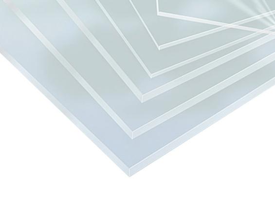 panneau de plexi transparent
