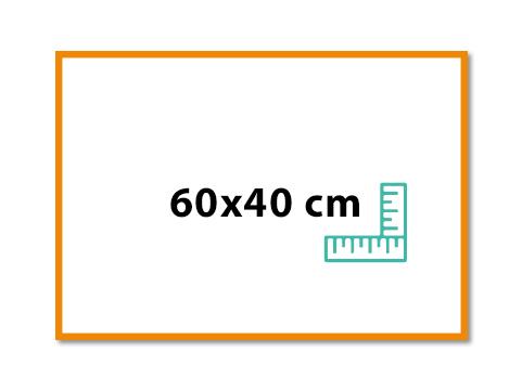 Panneau 60x40 cm