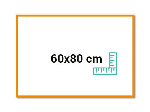 Panneau 80x60 cm