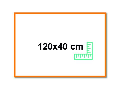 Panneau 120x40 cm