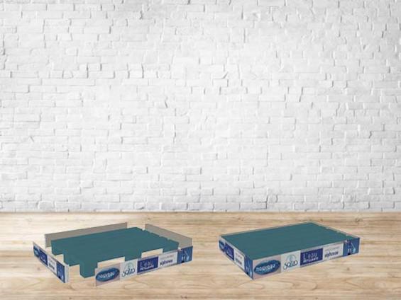 Jupe de palette carton