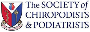 The Society Chiropodists Podiatrists Logo