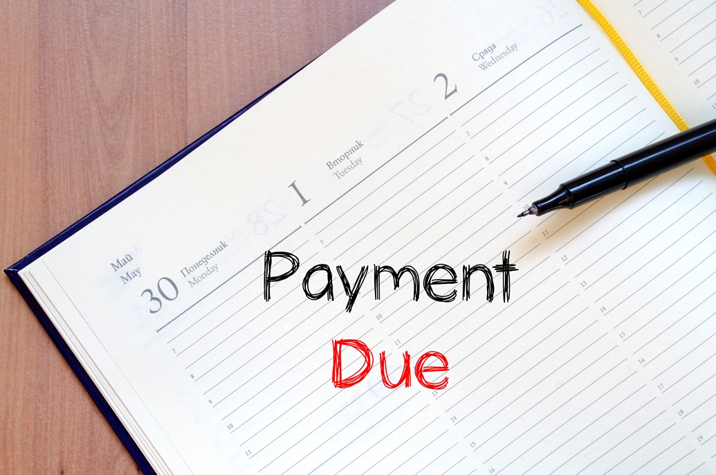 Advice re: Payment Terms