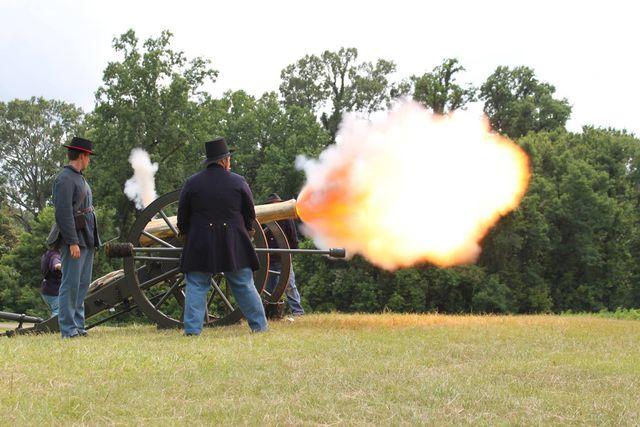 Beleg van Vicksburg Amerikaanse burgeroorlog Mississippi