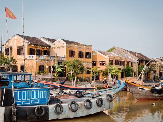 Hoi An Binnenstad haven Vietnam