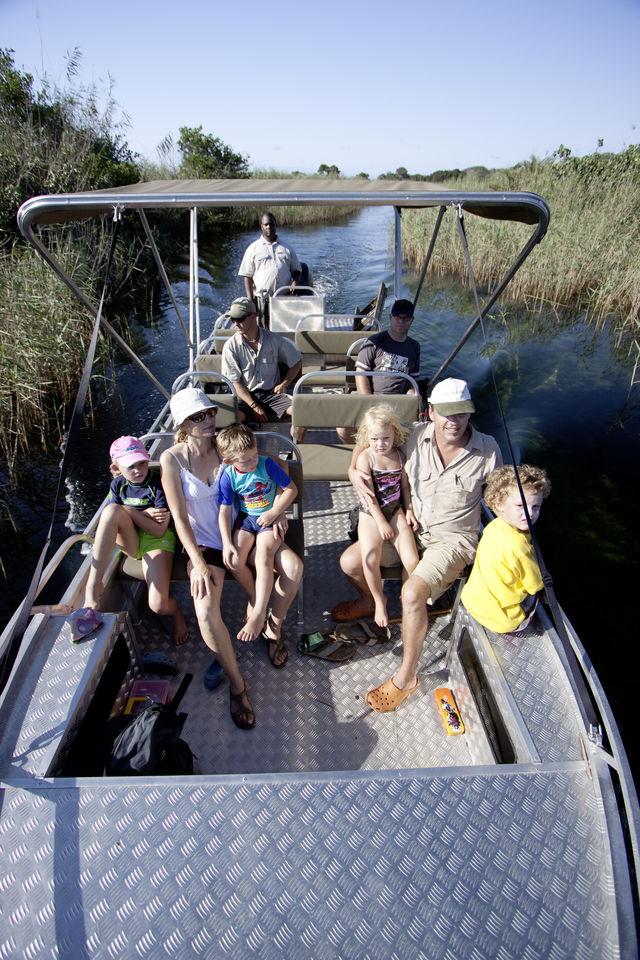 rondreis zuid-afrika boottoch Kosi Forest kanalen