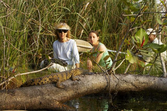 rondreis zuid-afrika Kosi Forest kano tocht