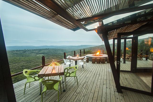 rondreis zuid-afrika Hluhluwe Game Reserve Rhino Ridge Safari Lodge