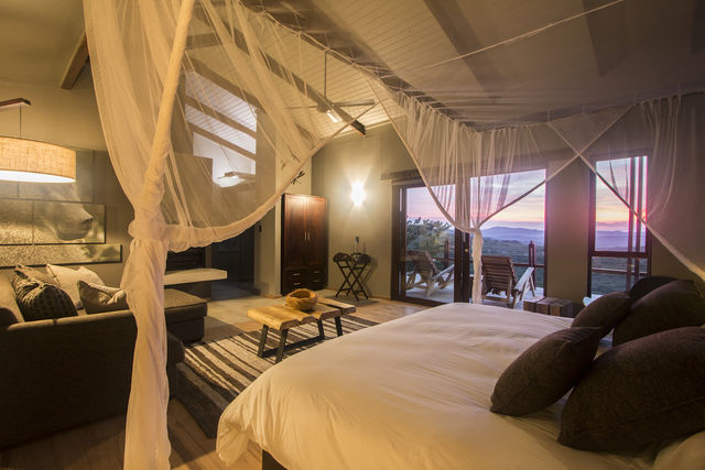 Zuid-Afrika Rhino Ridge Safari Lodge Hluhluwe Game Reserve Bush Villa