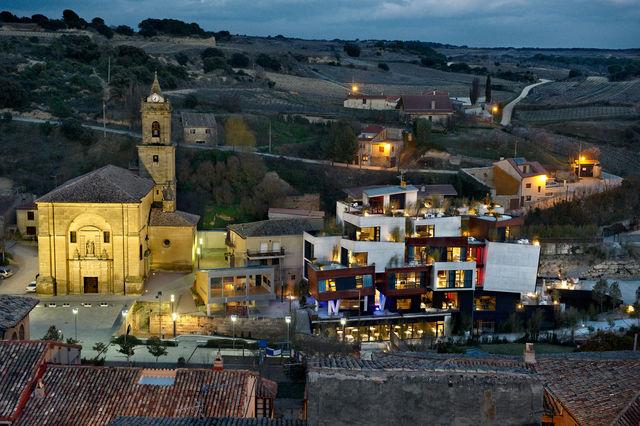 Viura Villabuena de Alava luchtfoto