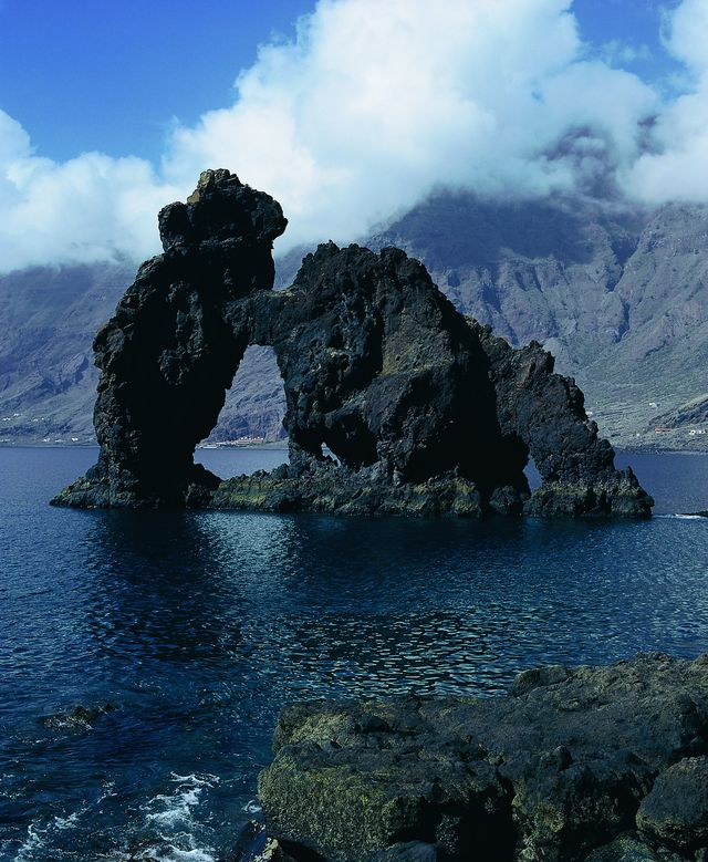Rondreis Island hoppen Canarische Eilanden El Hierro de rots van Valverde