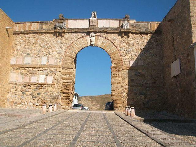 Antequera Arco de los Gigantes Andalusië