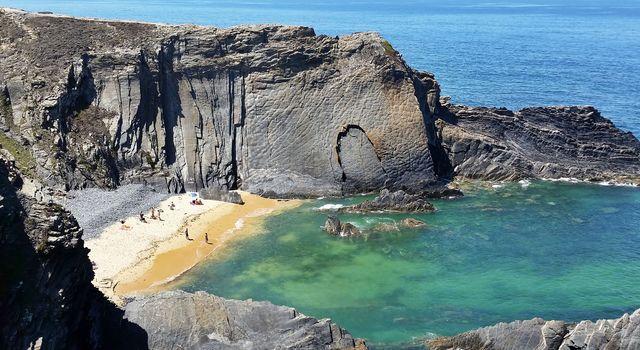 Kust Odemira Portugal