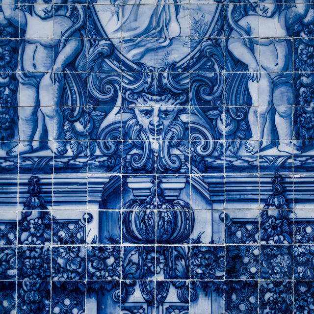 Rondreis Portugal Porto Azulejos tegel