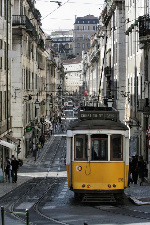 Rondreis Portugal Lissabon trein