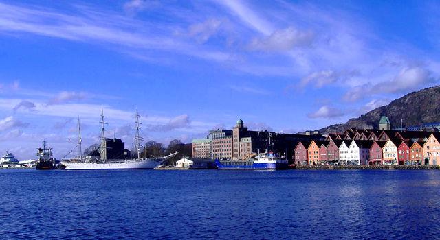 Bergen stad Noorwegen