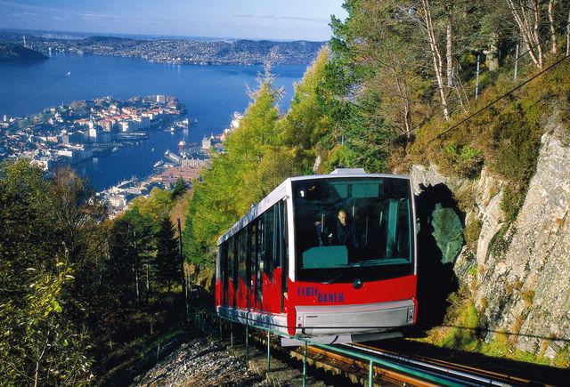 bergen Tram noorwegen